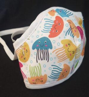 jelly fish kids mask